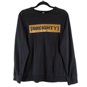 "✨3/$25✨Next Level ""80Eighty"" Light Sweatshirt - M"